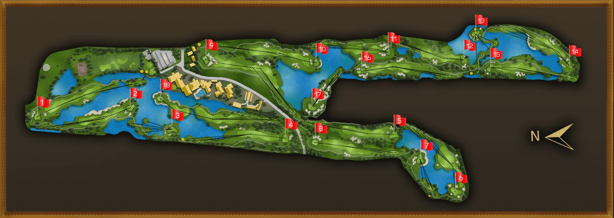 Golf Map